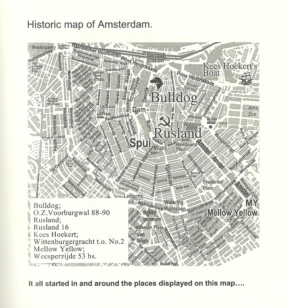 Smoker City Trip Amsterdam