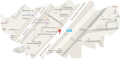 LOCATION BOB'S YOUTH HOSTEL AMSTERDAM