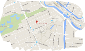 hotel fita amsterdam map