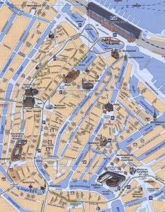 Amsterdam Map Tram Bus P+R