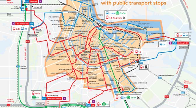 Amsterdam Coffeeshops Maps 2019