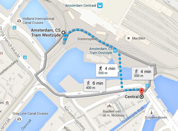 Hotels Near Amsterdam Centraal Station