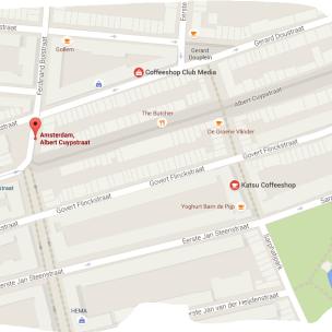 map katsu coffeeshop