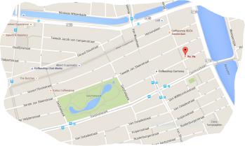map yo yo coffeeshop de pijp amsterdam