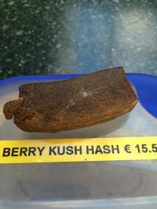 berry kush hash 2016 march