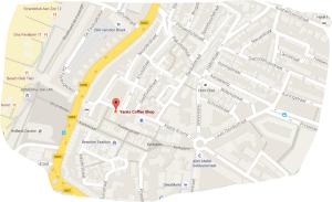 map coffeshop yanks zandvoort