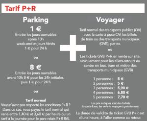 P+R AMSTERDAM