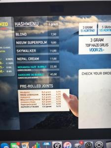 HASH MENU COFFEESHOP SUPER FLY 2016 JUNE