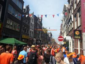 Kingsday 2014 Haarlemmerstraat