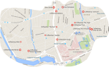 coffeeshops rotterdam map 3