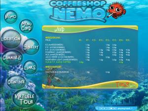 coffeeshop nemo menu weed 2015