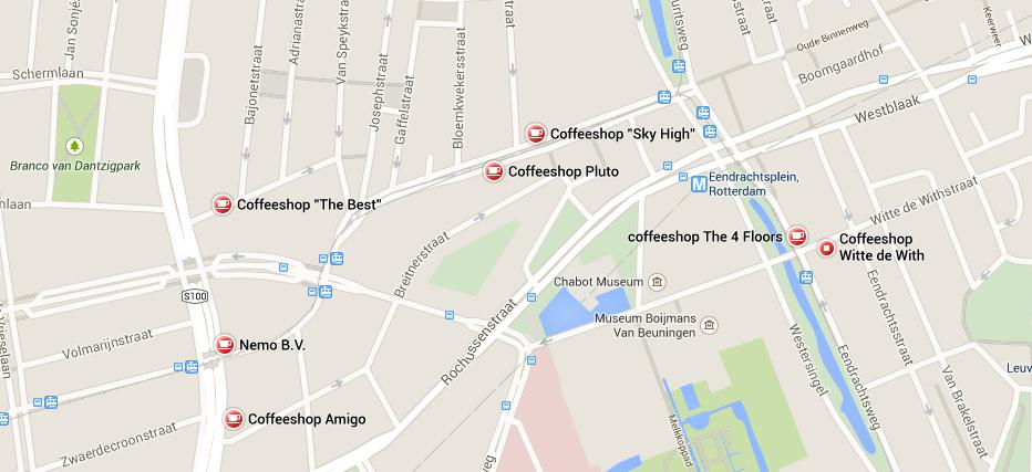 rotterdam coffeeshop 2015