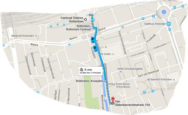 rotterdam coffeeshop centrum tram 4 , 7 , 8 , 25
