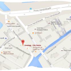 map omelegg city centre red light district amsterdam