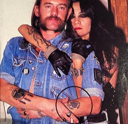 Schiffmacher & Veldhoen Tattooing Ian Fraser Kilmister Motörhead Hawkwind Lemmy Kilmister