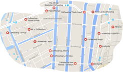 coffeeshops in Jordaan Amsterdam
