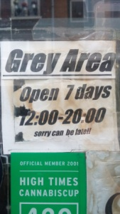 Grey Area Hours Open 7 days