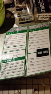 menu coffeeshop Grey Area may 2015