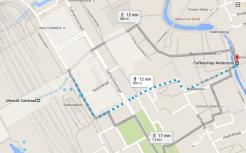 walking to coffeeshop andersom utrecht