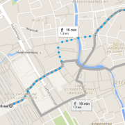 walking to coffeeshop pleasure utrecht