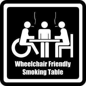 Smoking Table Abraxas Coffeeshop
