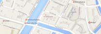 map coffeeshop blue bird amsterdam