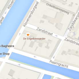 map coffeeshop blue bird amsterdam