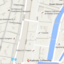 map coffeeshop greenhouse centrum amsterdam