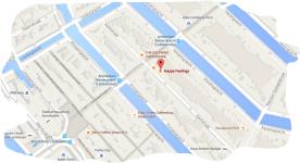 map coffeeshop happy feelings amsterdam tram 1 2 5