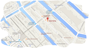 map coffeeshop happy feelings amsterdam tram 1 2 5