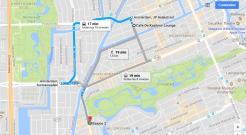 map to coffeeshp kashmir from coffeeshop basjoe 2