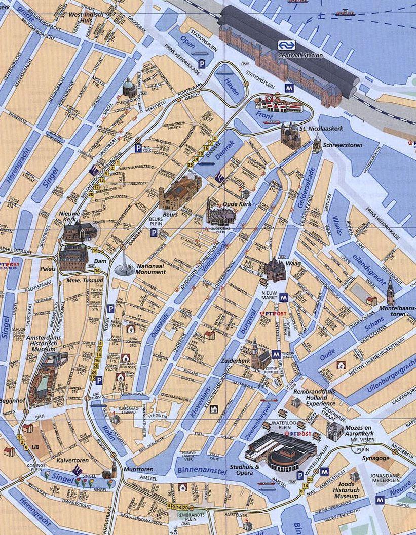 Amsterdam Coffeeshops Maps 2017 – Budhaze's Blog