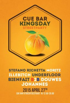 king's day 2015 amsterdam cue bar