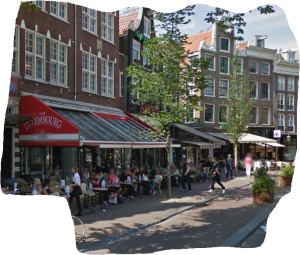 spuistraat cafe luxembourg amsterdam