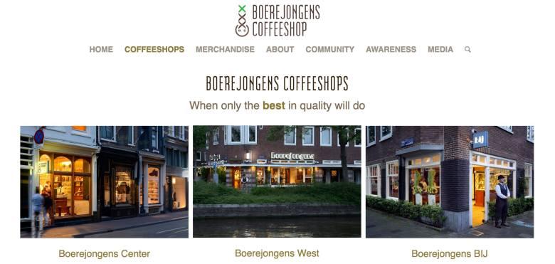 menus Boerejongens Coffeeshops 2017 september
