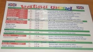 menu coffeeshop Katsu july 2015
