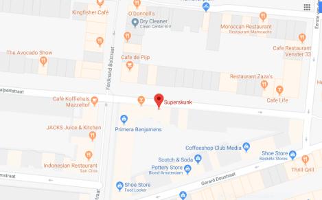 map super skunk de pijp 2018