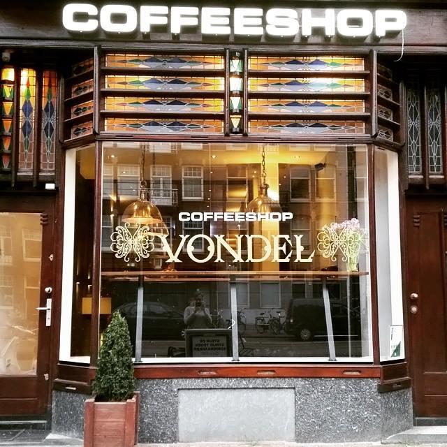 Coffeeshop Vondol Amsterdam