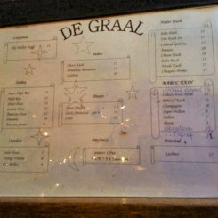 de graal menu september 2016