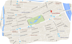 map coffeeshop carmona in de pijp amsterdam tram 3 or 4