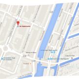 map weed hash coffeeshop de supermarkt tram 3 or 10