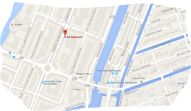 map weed hash coffeeshop de supermarkt tram 3 or 10