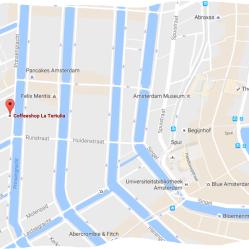 map coffeeshop la tertulia
