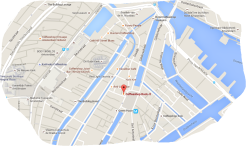 map coffeeshop rock it Nieuwmarkt 12 red light district amsterdam