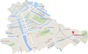 map coffeeshop the stud amsterdam