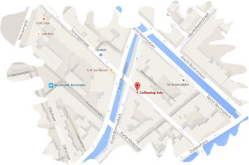 map solo coffeeshop amsterdam