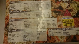 menu 2016 march Paradox 1e Bloemdwarsstraat 2
