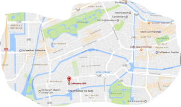 MAP DNA coffeeshop TRAM 24