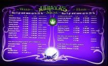 Abraxas Coffeeshop 2018 FEBRUARY