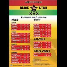 African Blackstar Coffeeshop weed 2018 october